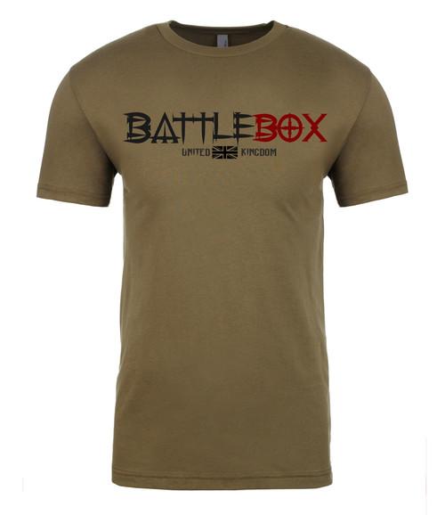 BattleBox UK™ | Box | T-shirt | Military Green  - www.BattleBoxUK.com