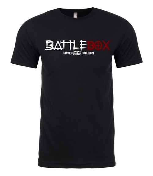 BattleBox UK™ | Box | T-shirt | Black - www.BattleBoxUk.com