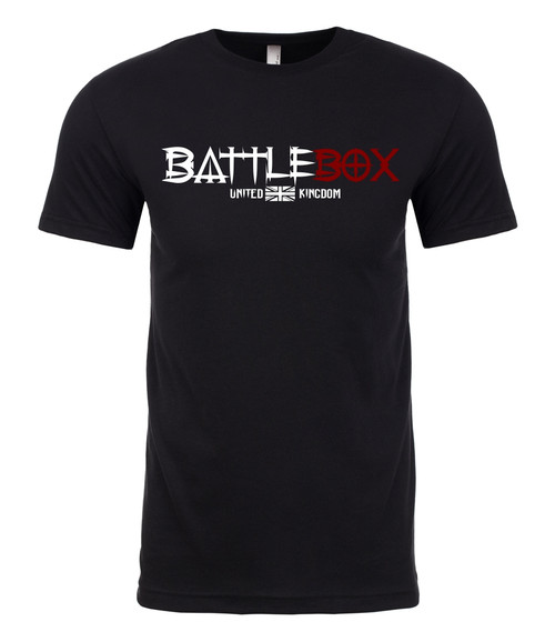 BattleBox UK™ | Box | T-shirt | Black - www.BattleBoxUk.com