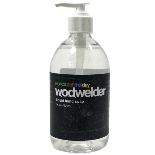 WOD WELDER NATURAL LIQUID HAND SOAP | 16.9 oz bottle (500ml) www.battleboxuk.com
