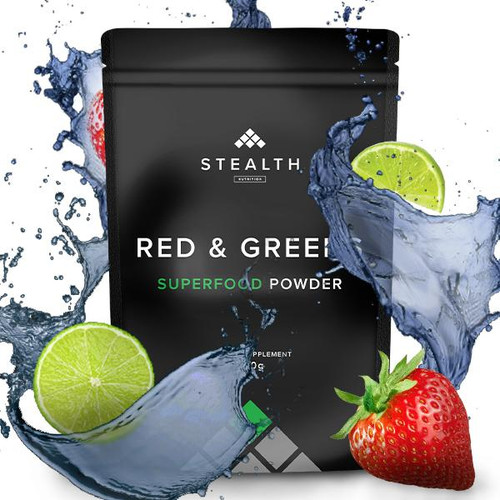 STEALTH NUTRITION - PURE RED & GREENS Superfood 300 www.battleboxuk.com