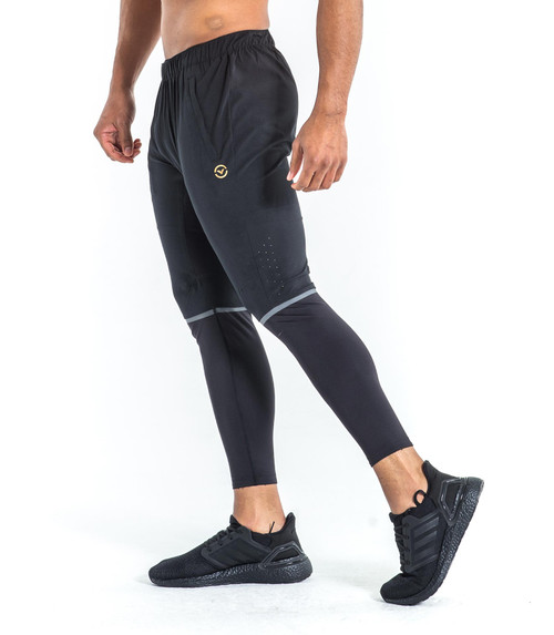 Virus Renegade Air Pant Black/Gold www.battleboxuk.com