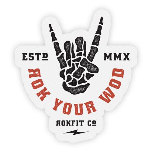 RokFit | Rok Your WOD Sticker