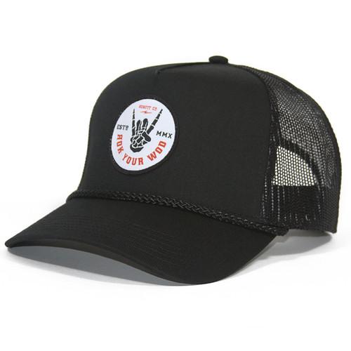 RokFit | Rok Your WOD | Trucker Hat www.battleboxuk.com