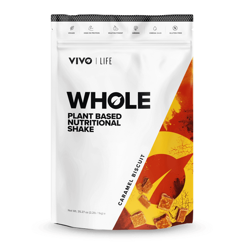 VIVO LIFE | WHOLE | Plant Based Nutritional Shake | 1KG 25 SERVINGS  www.battleboxuk.com