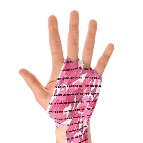 WOD & DONE | Hand Protection | Pink Camo www.battleboxuk.com