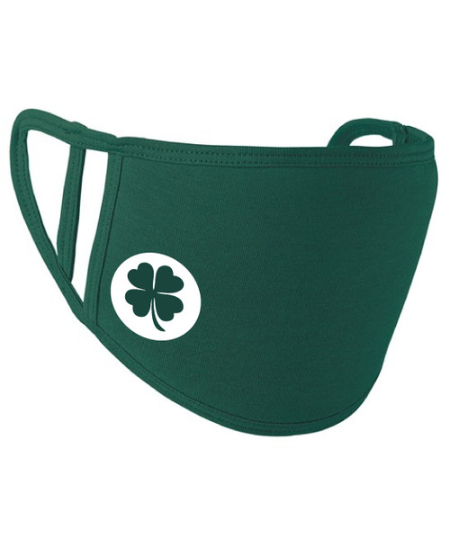 rish Clover Washable 2-Ply Face Cover Mask Silvadur™ 930 Anti-Microbial Finish  - www.BattleBoxUk.com
