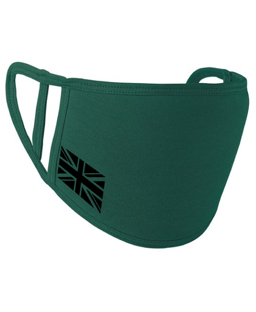 Union Jack Washable 2-Ply Face Cover Mask Silvadur™ 930 Anti-Microbial Finish  - www.BattleBoxUk.com
