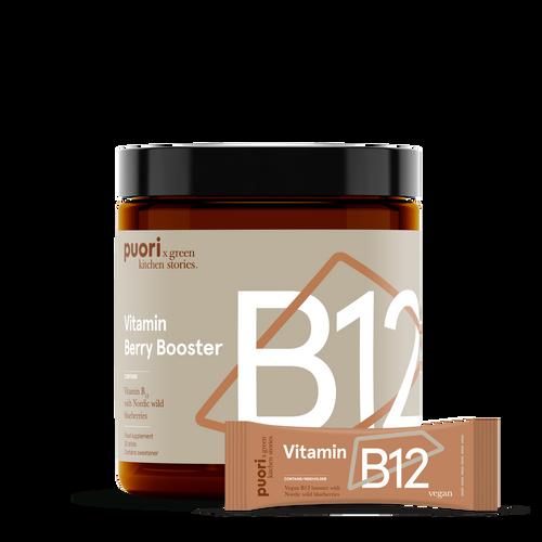 B12 - Berry Booster with vitamin B12 -20 sticks www.battleboxuk.com