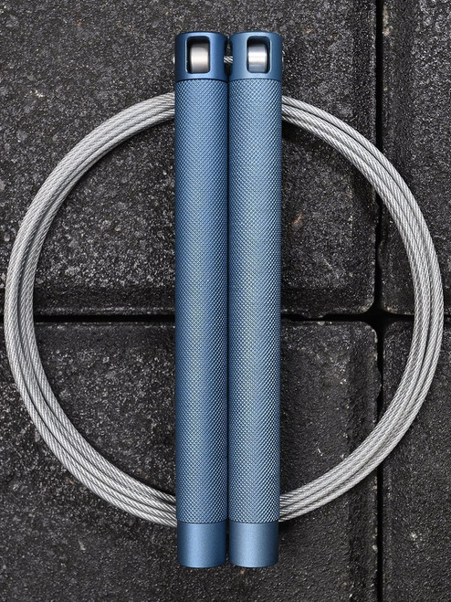 **NEW** RPM Training Speed Rope Session 4.0 Steel Blue  - www.BattleBoxUk.com