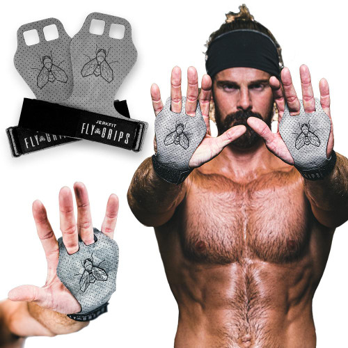 JerkFit Fly Grips 100% Vegan World's softest & Lightest Grips  - www.BattleBoxUk.com