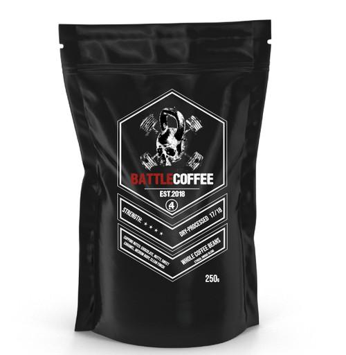 BattleCoffee | No4 | Original Whole Coffee Beans 250g - www.BattleBoxUk.com
