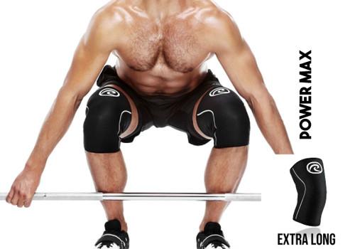 Rx Knee Sleeve Power Max Black 105506-01 (R-105506-01) www.battleboxuk.com