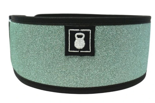 2POOD | EMERALD STRAIGHT WEIGHTLIFTING BELT w/ WODclamp®    - www.BattleBoxUk.com