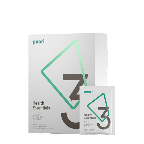 Puori PurePharma 3 Daily Pack 3 x O3 - 3 x M3 - 1 x D3 All You Really Need Pure Pharma - www.BattleBoxUk.com