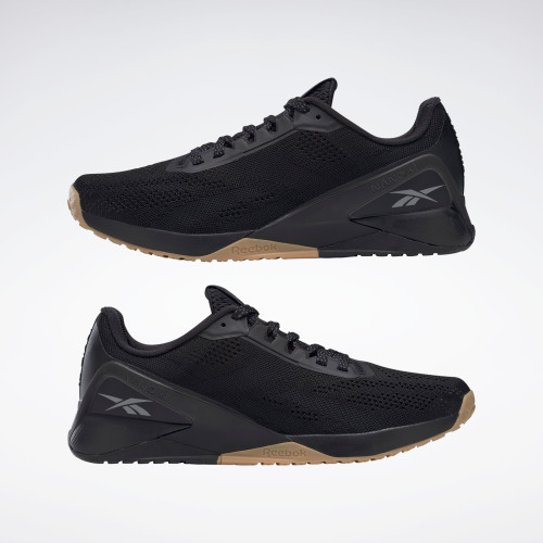 Reebok Nano X1 Shoes Black / Night Black / Reebok Rubber Gum-01 (FZ0633) www.battleboxuk.com