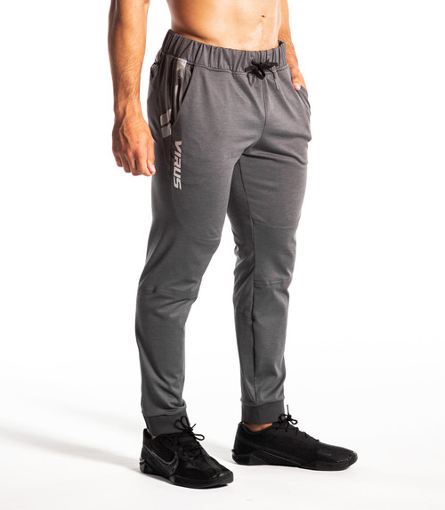 Virus KL2 Active Pant Heather Charcoal/Silver PFU2002-HCSL  www.battleboxuk.com