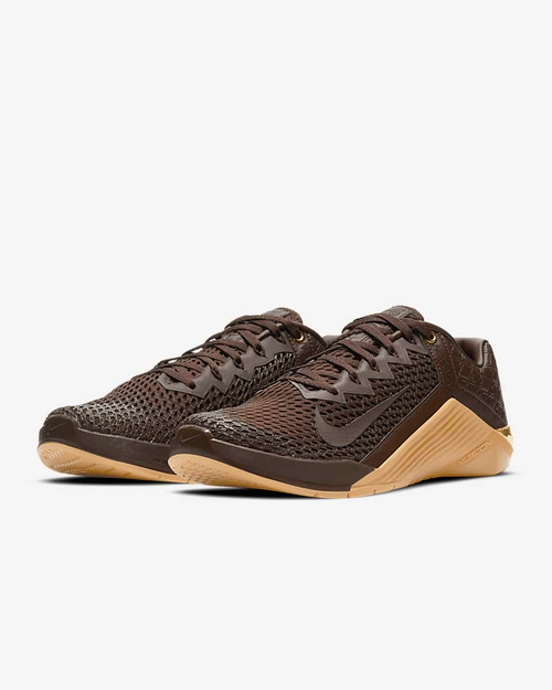 Nike Metcon 6 Premium Training Shoe Baroque Brown/Wheat/Velvet Brown/Baroque Brown (CV1262-200) www.battleboxuk.com