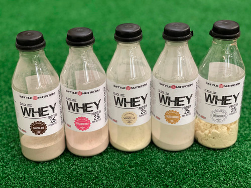 Battle Nutrition Whey Shake To Go Drinks 25g Protein Per Bottle (12 Pack Or 24 Pack / Mix And Match) - www.Battleboxuk.com