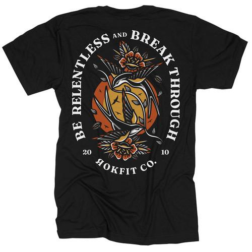 RokFit  Be Relentless  T-Shirt
