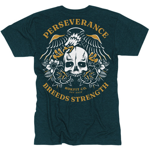 RokFit Perseverance Breed Strength T-Shirt www.BattleBoxUk.com