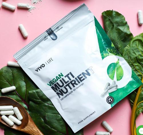 Vivo Vegan Multinutrient & Mineral Supplement 120cap 60 Ser www.battleboxuk.com