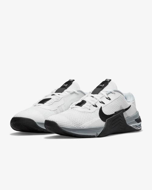 Nike Metcon 7 Training Shoe White/Particle Grey/Pure Platinum/Black Style: CZ8281-100  - www.BattleBoxUk.com