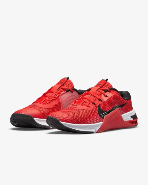 Nike Metcon 7 Training Shoe Chile Red/Magic Ember/White/Black Style: CZ8281-606  - www.BattleBoxUk.com