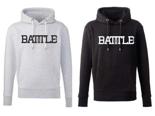 BattleBox UK™ | BATTLE | Pullover Hoodie Men Organic - www.BattleBoxUk.com