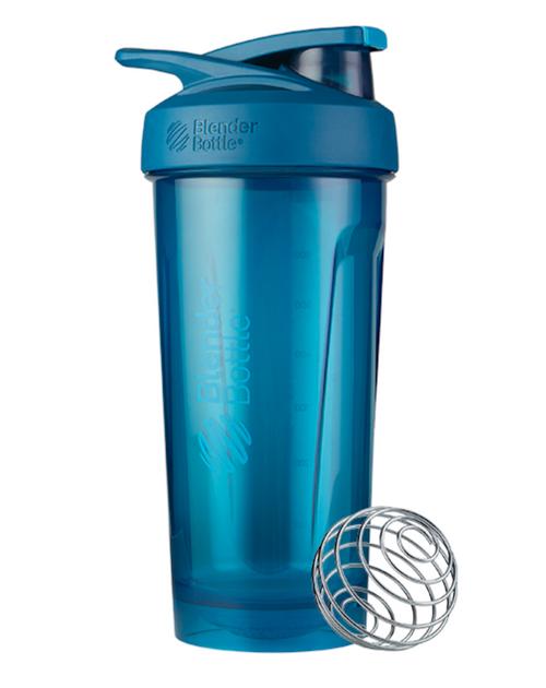 BlenderBottle® Strada™ Tritan Protein Shaker Blue  www.battleboxuk.com