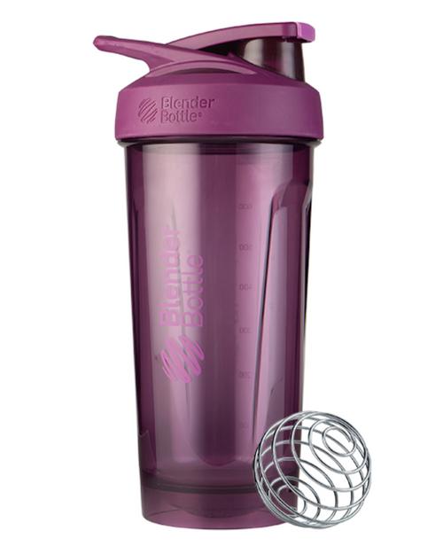 BlenderBottle® Strada™ Tritan Protein Shaker Purple  www.battleboxuk.com