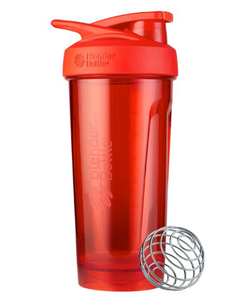 BlenderBottle® Strada™ Tritan Protein Shaker Red www.battleboxuk.com