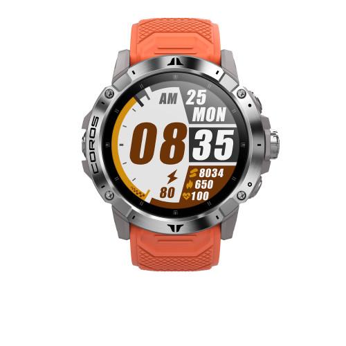 COROS VERTIX 2 GPS ADVENTURE WATCH - LAVA (CORCO781824) WWW.BATTLEBOXUK.COM