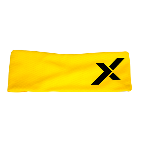 CrossTrainingUK - StrongerX X Logo Headband (YELLOW)