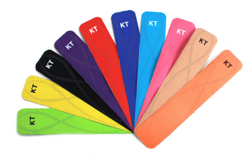 KT Tape Pro Synthetic Kinesiology Elastic Sports Tape 0.25cm Stripe