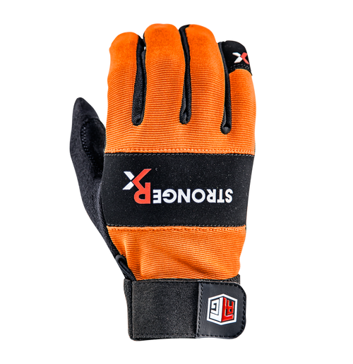 StrongerX RTG Gloves | Competition Edition 2.0 (ORANGE) Stronger RX