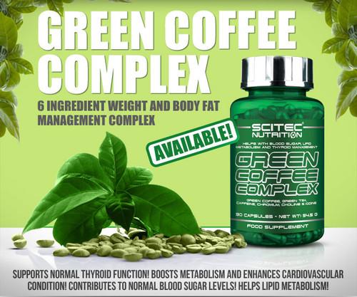 SCITEC NUTRITION GREEN COFFEE COMPLEX