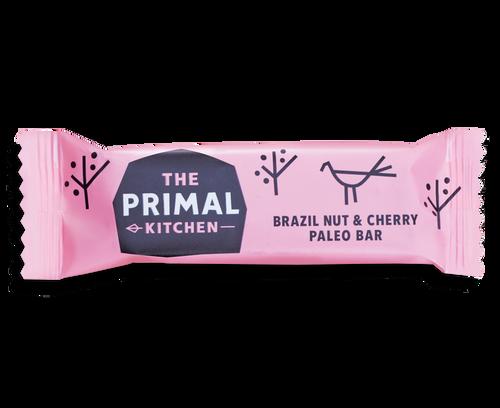 The Primal Kitchen Brazil Nut & Cherry Bars (18x45g)