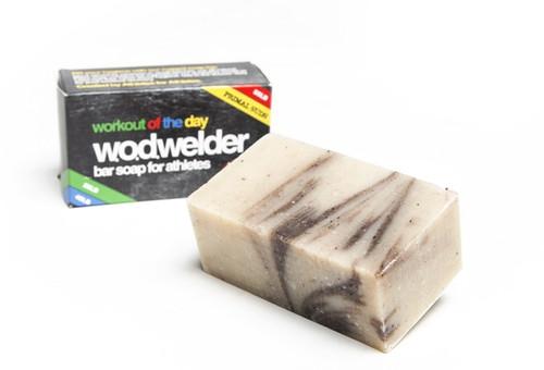 W.O.D. Welder Paleo Bar Soap Rogue Crossfit W.O.DWELDER | NATURAL BAR SOAP | PEPPERMINT/EUCALYPTUS WWW.BATTLEBOXUK.COM
