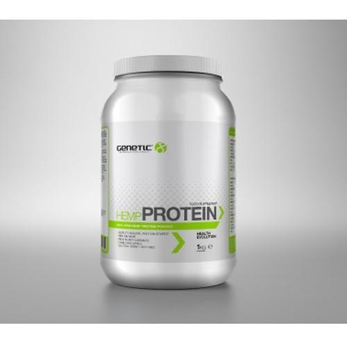 Genetic Supplements Natural Hemp Protein 1kg Paleo Vegan Zone Crossfit