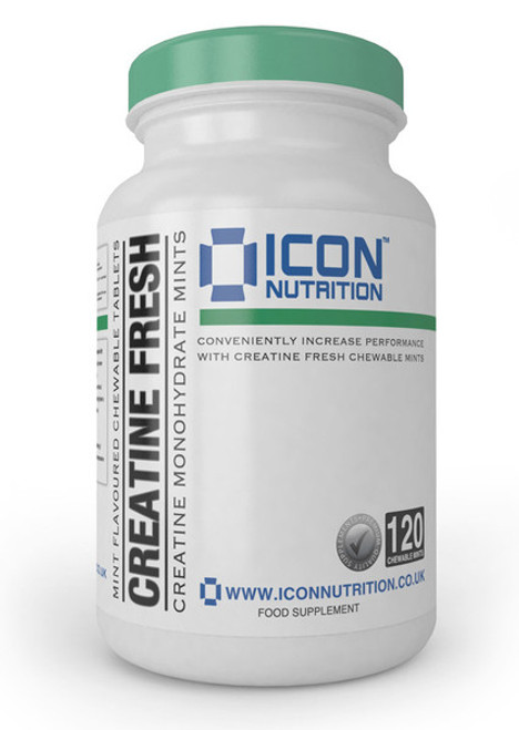 ICON NUTRITION CREATINE CHEWABLE MINTS (30SERV)