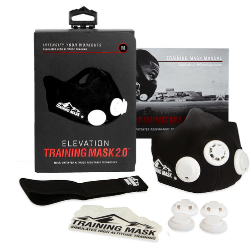 Training Mask 2.0 Elevation Training Simulates High Altitude Fitness Mask - www.BattleBoxUk.com