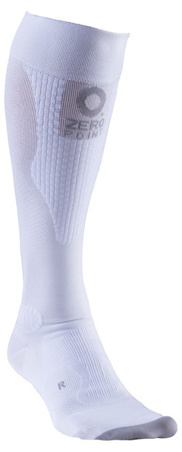 ZERO POINT INTENSE COMPRESSION SOCKS WHITE
