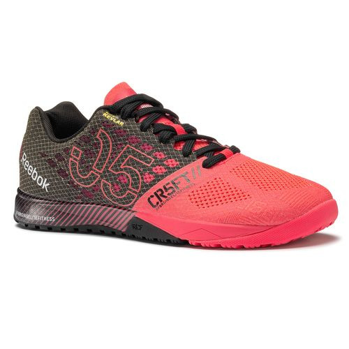 REEBOK CROSSFIT NANO 5.0 Color Neon Cherry Black(M49795)