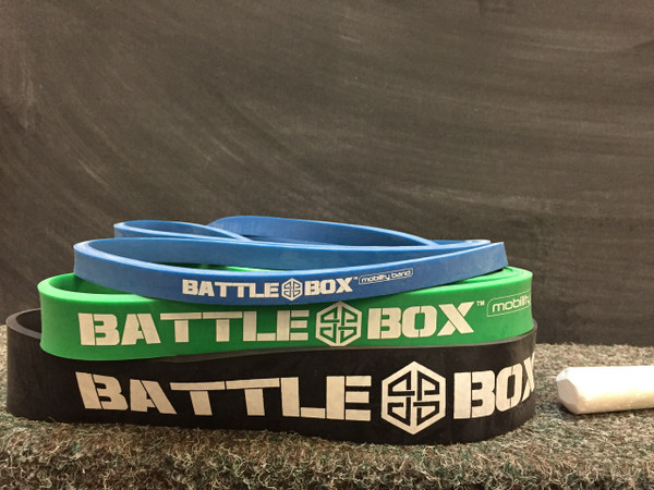 Battle Box Mobility Bands 3 Different Resistance Strength