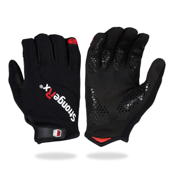 StrongerRx 3.0 WOD Gloves (BLACK) www.battleboxuk.com