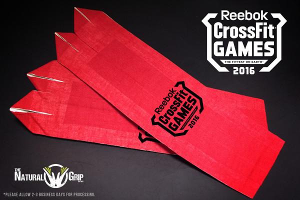 "CrossFit Games Natural Grip Combo ""Grip+ Goat Tape Roll"" Red www.battleboxuk.com"
