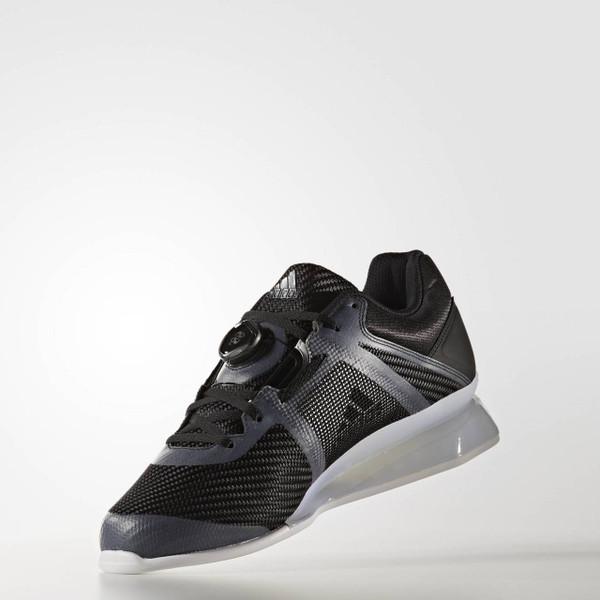 Adidas Leistung 16 II Black Weightlifting Shoe