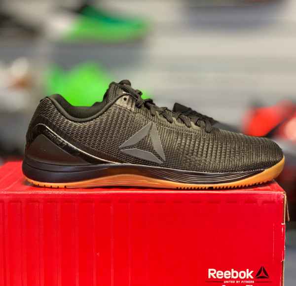 MEN CROSSFIT REEBOK NANO 7 DTD Black/Rubber Gum (BS8325) - www.BattleBoxUk.com
