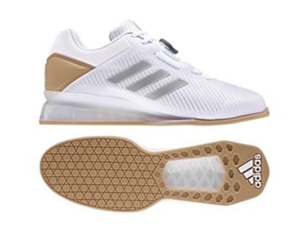 Adidas Weightlifting Leistung.16 II White Shoes CQ1771  www.BattleBoxUk.com